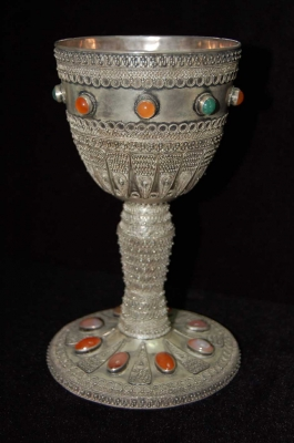 Галерия  - сребърна чаша