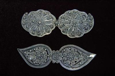 Галерия  - сребърни пафти